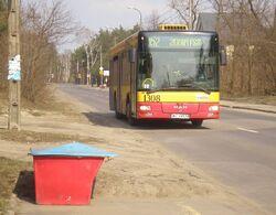 Wałuszewska (autobus 152)