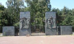 Brama Cmentarza Żydowskiego na Bródnie