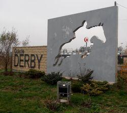Głębocka (logo osiedla Derby)