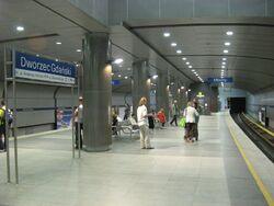 Dworzec gdanski 2