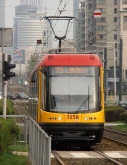 Aleja JP2 (tramwaj 73) 2013
