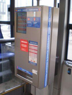 Autobus 175 (automat biletowy)