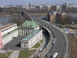Trasa WZ widok w kierunku Pragi
