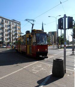 Aleja Solidarności (tramwaj 40)