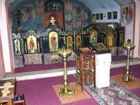 Kaplica (dolna cerkiew) w cerkwi prawosławnej św. Jana Klimaka na Woli