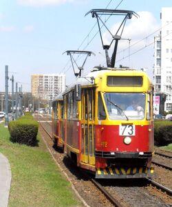 Aleja Jana Pawła II (tramwaj 73)