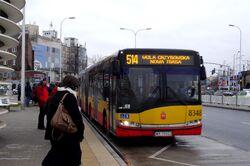 M Stadion Narodowy (przystanek, autobus 514)