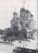 Nevsky cathedral warsaw