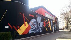 Kino Elektronik murale