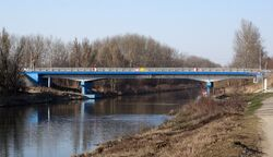 Kobiałka (Kanał Żerański, mostek)