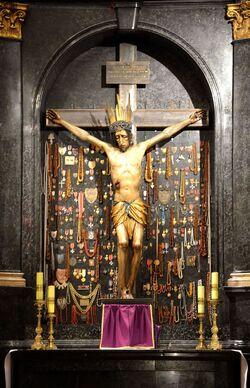 Krucyfiks Jerzego Baryczki Katedra św. Jana