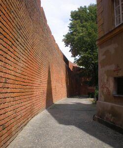Rycerska (mury obronne)