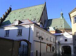 Dach katedry warszawskiej