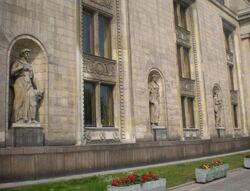 Palac Kultury i Nauki (rzezby))