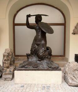 Pomnik Syrenki lapidarium