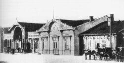 Dworzec Kowelski 1877