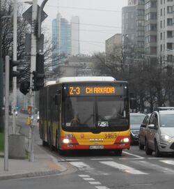 Al. Jana Pawła II (autobus Z-3)