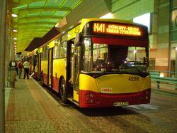 Dworzec Centralny (przystanek, autobus N41)