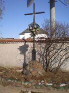Czerniakowska, Gołkowska (krzyż)