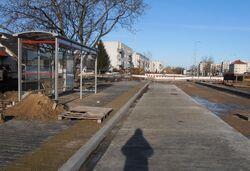 Lazurowa (przebudowa), Osiedle Górczewska (przystanek)
