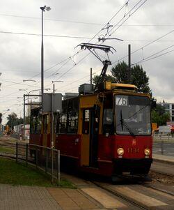 Słowackiego (tramwaj 76)