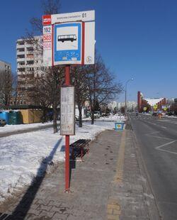 Warchałowskiego (przystanek)