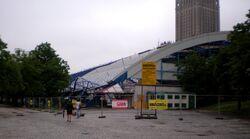 Plac Defilad (Kupieckie Domy Towarowe w rozbiórce)