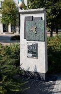 Pomnik granic getta Twarda