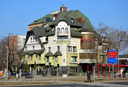 Hotel Czarny Kot ul. Okopowa 65