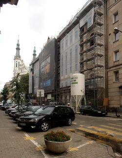Mokotowska (budynek nr 8, remont)