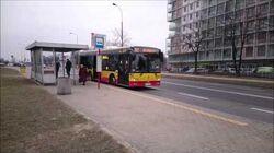 Autobus linii 192 na ul