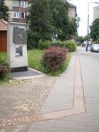 Pomnik granic getta (Bielańska)