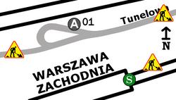 Dworzec Zachodni (Tunelowa)