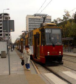 Plac Politechniki (przystanek, tramwaj 15)