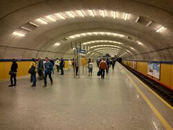 Metro Wierzbno (peron)