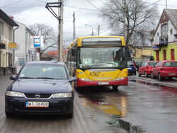 A567-Z13 przystanek PKP Falenica