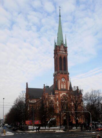 Plik:Kościół św. Stanisława (Wolska).JPG