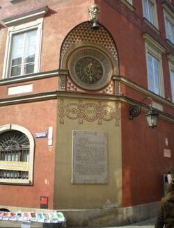Rynek Starego Miasta (Zegar)