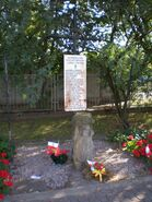Powązkowska (kamień pamiątkowy)