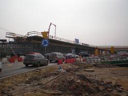Marsa (budowa węzła, Trasa Siekierkowska)2