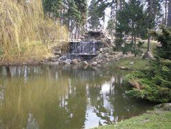 Park Skaryszewski (wodospad) 2