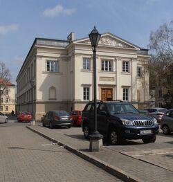 Uniwersytet Warszawski (Gmach Szkoły Głównej)