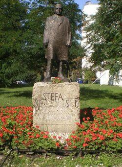 Pomnik S. Starzyńskiego Saski