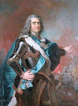 Louis de Silvestre-August II