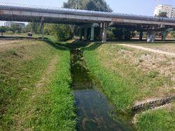 Potok Służewiecki (okolice alei KEN)