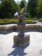 Park w Wilanowie (ogrod, fontanna)
