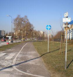 Aleja Rodowicza (ścieżka rowerowa)