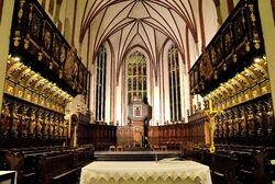 Prezbiterium katedra św. Jana