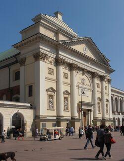 Krakowskie Przedmiescie (kosciol sw. Anny