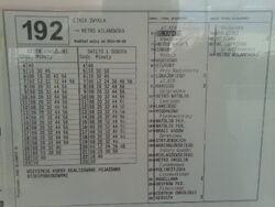 192 (rozklad)